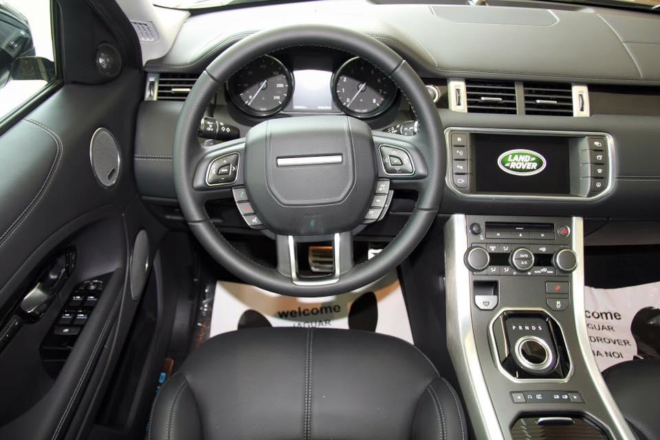 Nội thất xe Range Rover Evoque 01