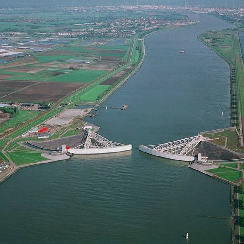 The Netherland's Impressive Storm Surge Barriers