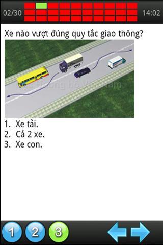 450 câu lý thuyết sát hạch ôtô - screenshot