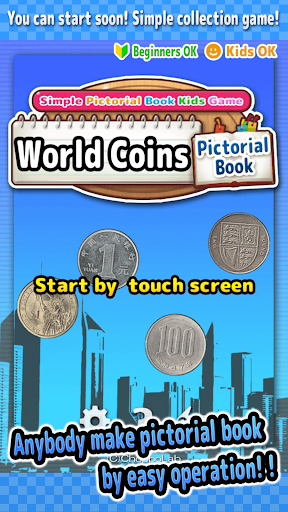 WorldCoins -SIMPLE PIC BOOK-