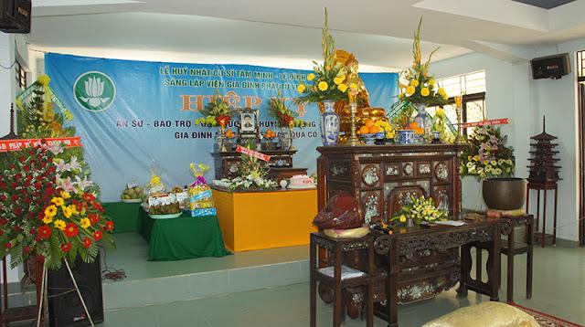 DSC06322 Lễ Hiệp kỵ   Lễ Huý Nhật Cư sĩ Sáng lập viên GĐPT Việt Nam   Tâm Minh Lê Đình Thám