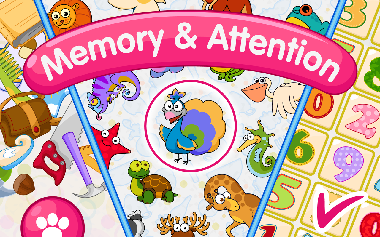 Memory games for kids 4 years Android Apps on Google Play