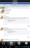 Screenshot of Wasabi Radio