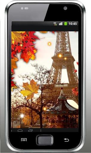 Autumn Paris live wallpaper