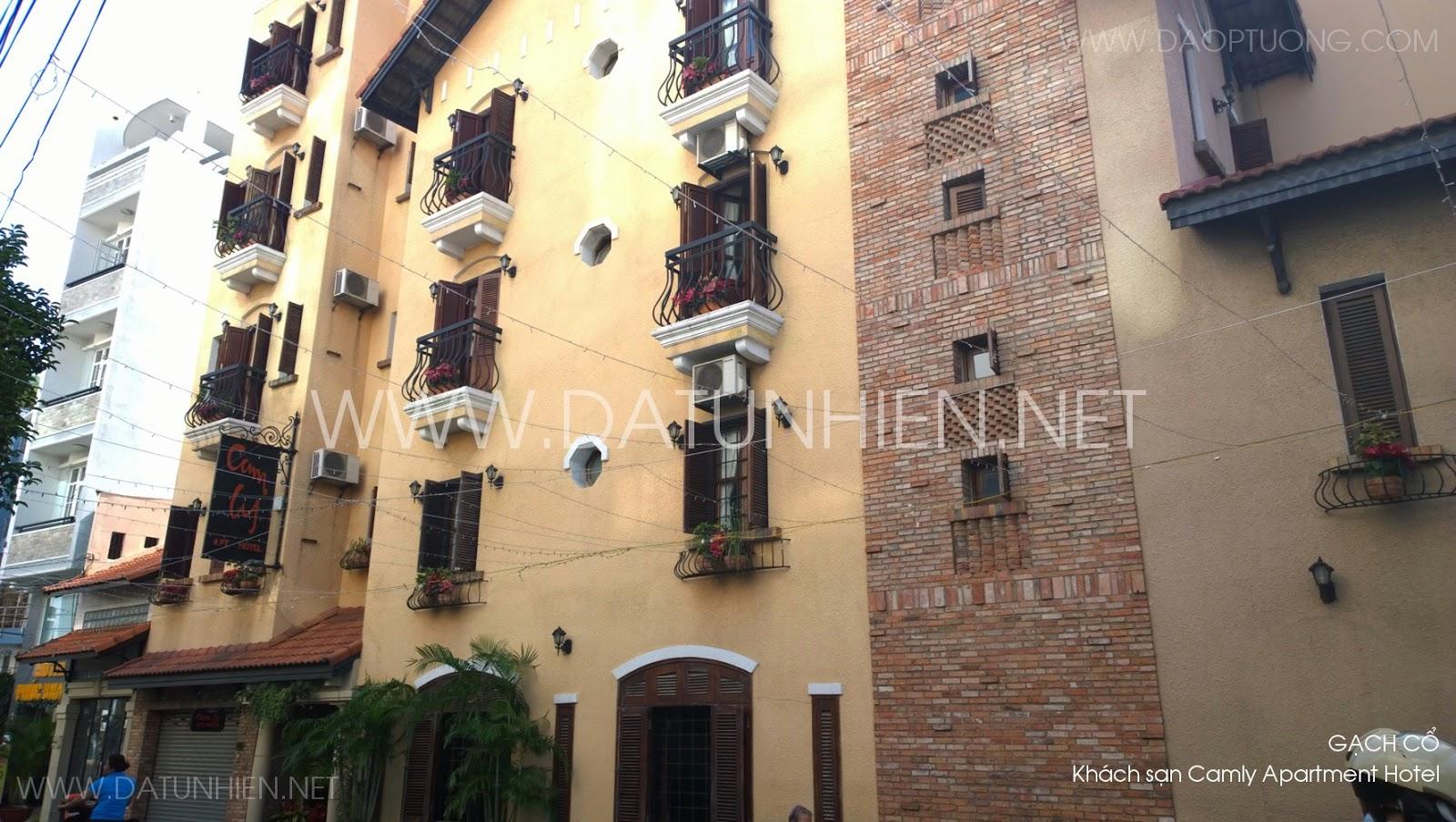 Khách sạn Camly Art Hotel phong cách cổ điển
