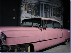 8324 Graceland, Memphis, Tennessee - Elvis Presley's Automobile Museum - 1955 pink Cadillac Fleetwood