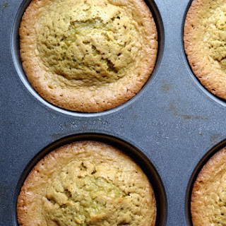 Flourless Pistachio Oatmeal Muffins (Gluten-Free)