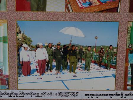 Armata Myanmar: generali desculti la manastire