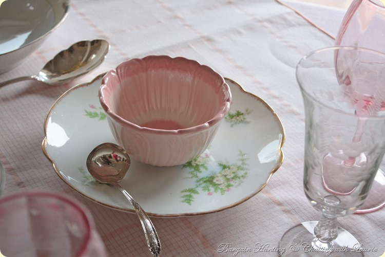 pink bowl on plate 2