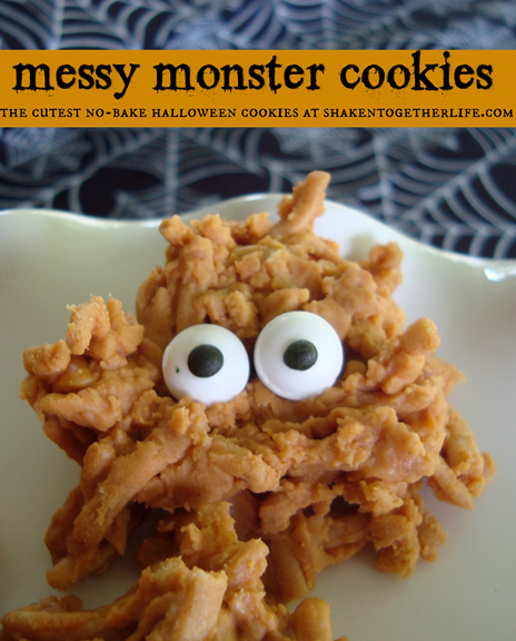 Messy-monster-cookies-the-cutest-no-bake-Halloween-cookies-at-shakentogetherlife.com_