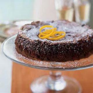Dark Chocolate Orange Cake