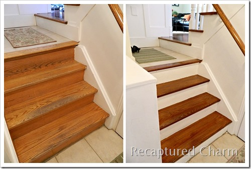 Recaptured Charm Refinish Your Stairs