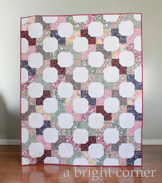 Quilt using Liberty of London fabrics