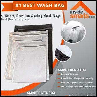 Inside Smarts Premium Delicates Laundry Bags
