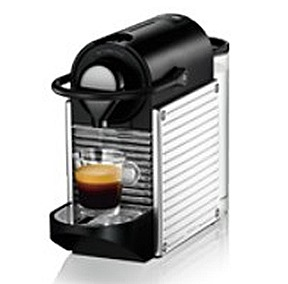 NESPRESSO PIXIE STAINLESS STEEL U COFFEE MACHINES OFFER ultimate experience award winning Red Dot contemporary sleek stainless steel panelled design, automatic brewing feature, easy maintance, energy saving quick descaling function.