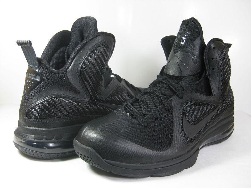 new concept 8d561 28d6c Releasing Now Nike LeBron 9 8220BlackBlackAnthracite8221 ...