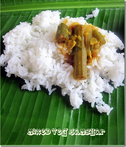 Mixed veg sambhar