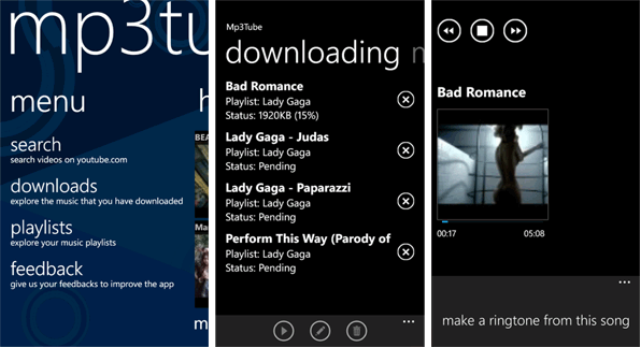 Free MP3 Music para Windows Phone