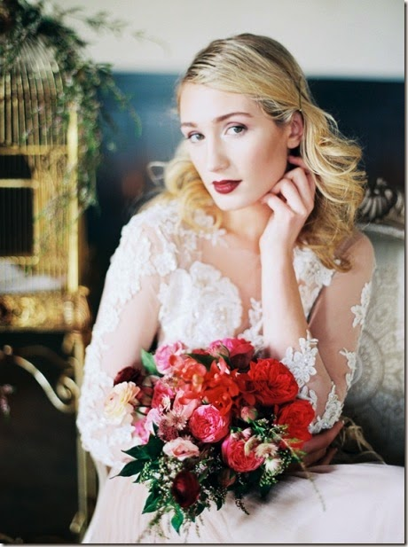 Bridal Beauty Tips For Valentine Wedding