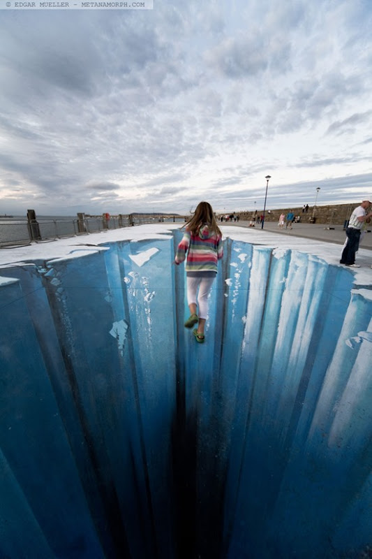 The Crevasse Pavement Art