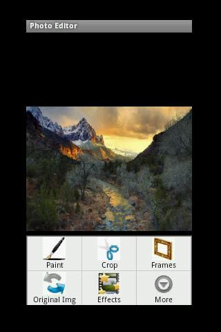 PhotoEditor -Lite - screenshot