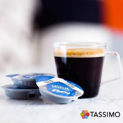 Upplev intensiv arom och fyllig smak i Gevalia Ebony bryggs enkelt med Tassimo