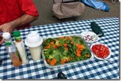 Nice salad too