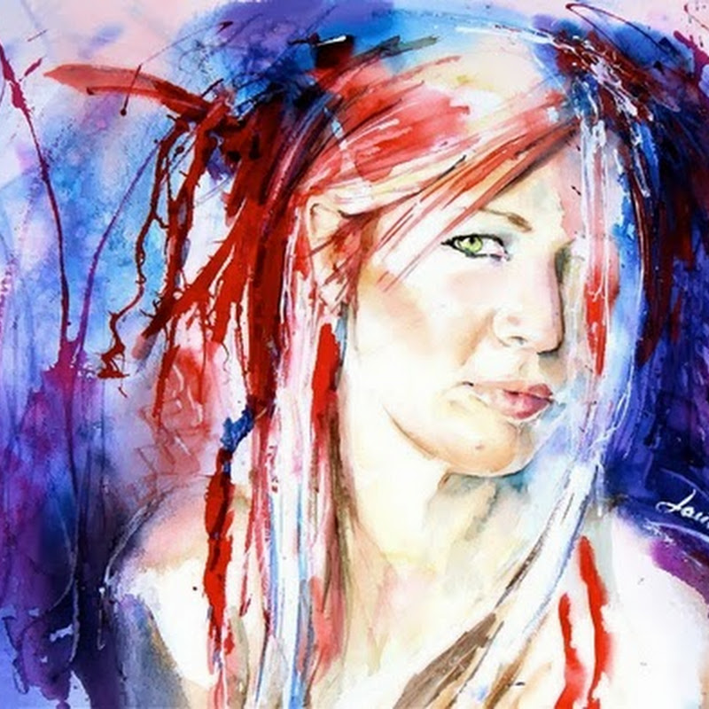 10 Beautiful Watercolor Paintings of Landscapes, People and more