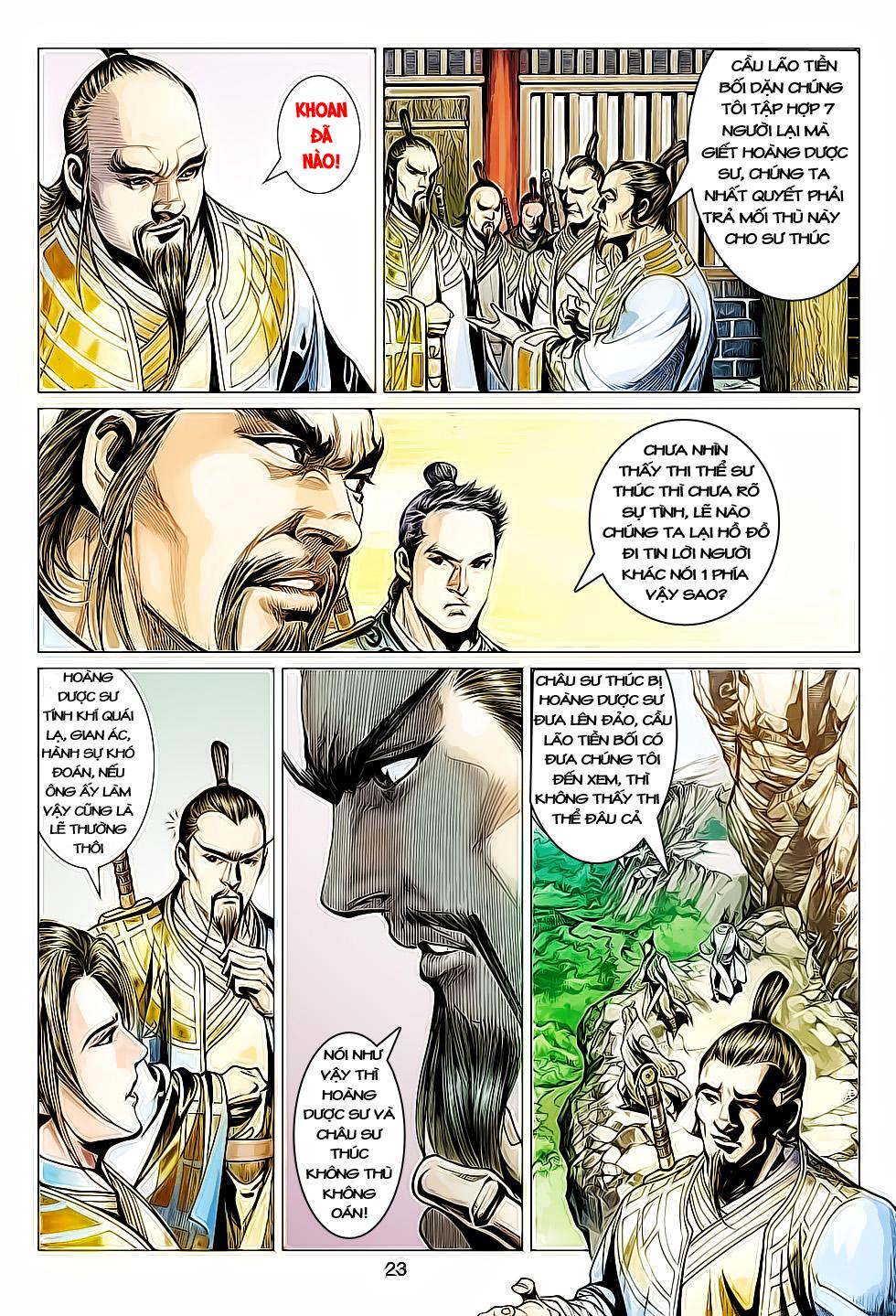 Anh Hùng Xạ Điêu anh hùng xạ đêu chap 61: thất tử chiến thiết thi trang 23