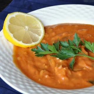 Tomato Avgolemono Soup