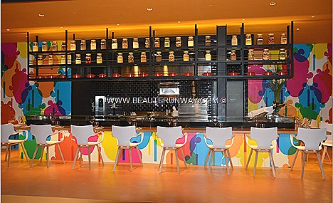 MAD - MODERN ASIAN DINER RESTAURANT TUNGLOK DICK LEE BAKERZIN BAR STORIES TOP WINES GRANDSTAND, TURF CITY SINGAPORE French artisan breads patisserie Tunglok Chinese cuisine Dim Sum Chef Josper Oven Wine Cellar mixologists