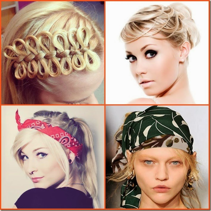 Inspiração: Penteados para todo tipo de Disfarce no fio.
