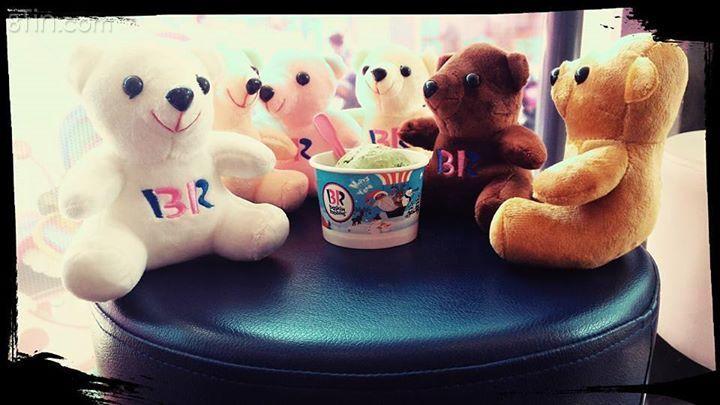 Hội nghị bàn......kem :) Kem đang đợi và gấu cũng thế. Với