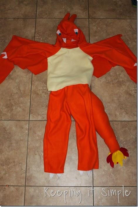 DIY Pokemon Charizard Costume (10)