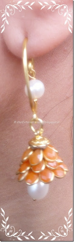 gold-pearl-orange-stone-earrings-