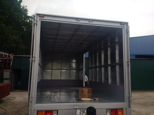 thùng kín xe tải hd65 hyundai