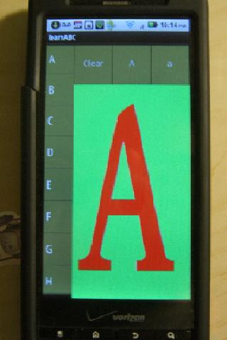Write ( ABC abc 123 ) - screenshot