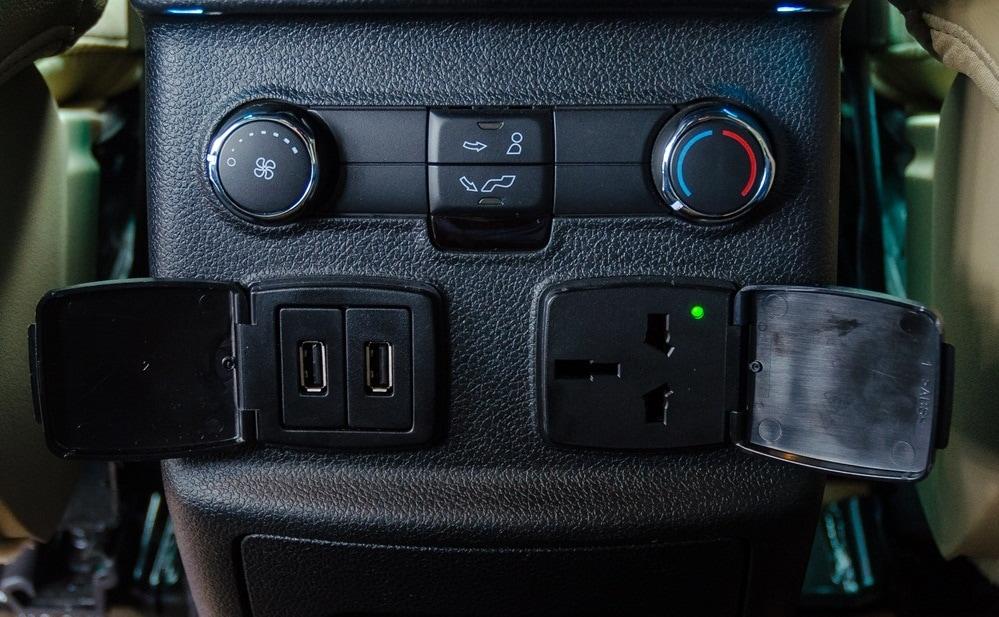 Nội thất xe Ford Explorer 2018 Màu Đỏ 08
