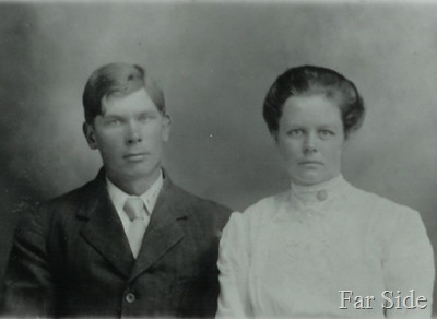 Grandma and Grandpa Y when they got married