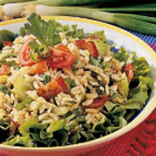 Spinach Rice Salad.