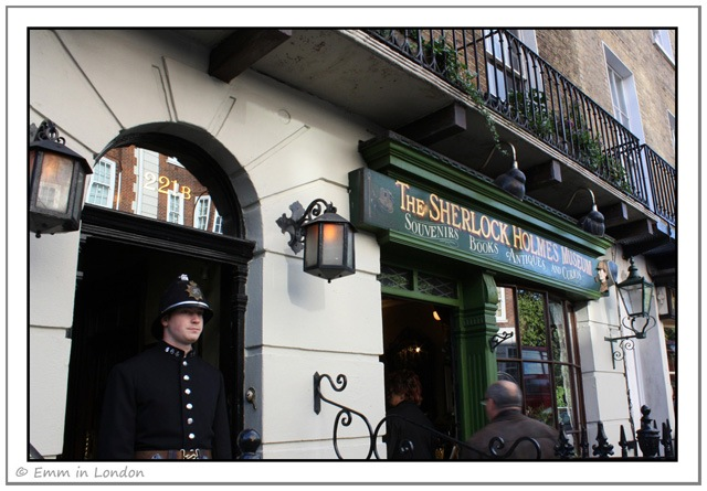 The Sherlock Holmes Museum in London 221B Baker Street