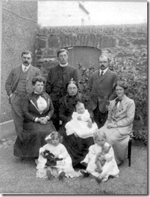 Anne Thomas with her family Pembs
