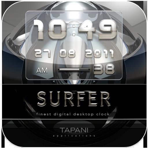 Digital Alarm Clock SURFER
