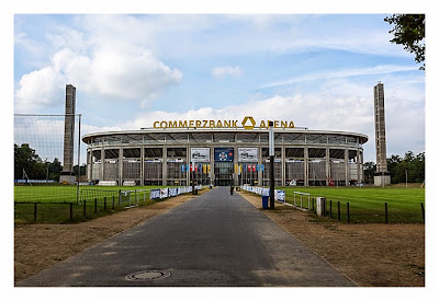 Big Äppel - Ein Tag davor - die Commerzbank-Arena