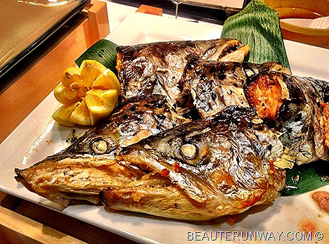 chiso zanmai kaisei japanese salmon head fresh fish sushi sashimi buffet