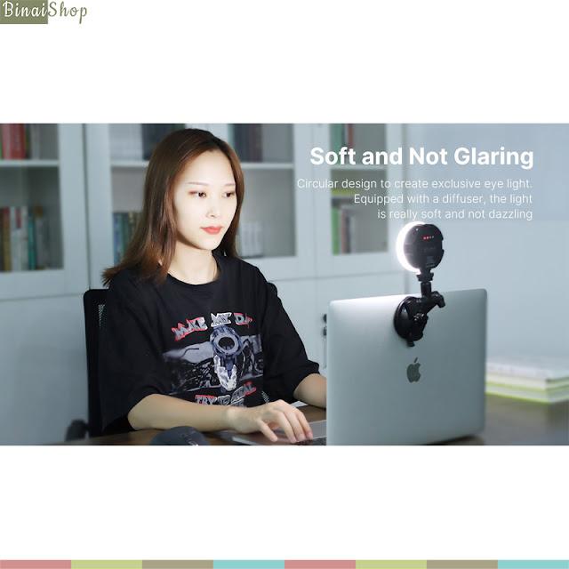 Ulanzi Vijim VL69 KIT - Đèn Led Trợ Sáng Cho Gọi Video, Livestream