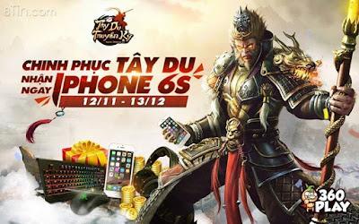 [TRẢI NGHIỆM TÂY DU  TRÚNG IPHONE 6S]