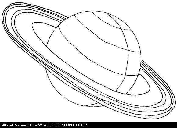 Dibujos Para Colorear Los Planetas