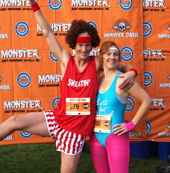 Richard Simmons Race Outfit