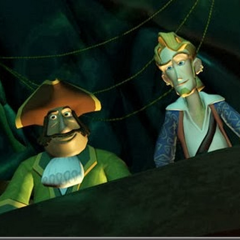 Tales of Monkey Island Chapter 3: Lair of the Leviathan.